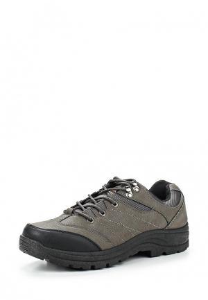 Ботинки трекинговые Leerd. Цвет: серый