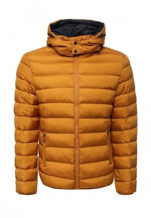 Куртка утепленная B.Men. Цвет: желтый