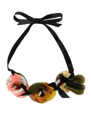 Ожерелье MARIA CALDERARA. Цвет: черный