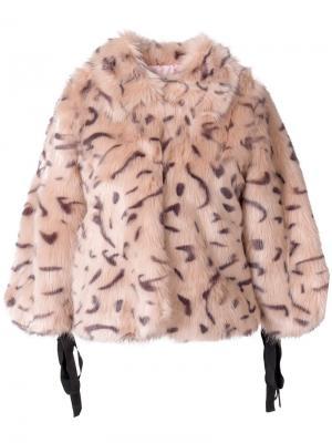 Tied sleeve jacket LAutre Chose L'Autre. Цвет: розовый и фиолетовый