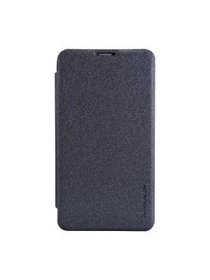 Nokia Lumia 530 Sparkle leather case Nillkin. Цвет: черный