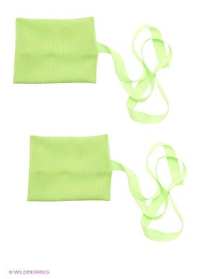 Гетры EMDI. Цвет: зеленый
