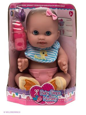 Пупс Малышка-крутышка JC Toys. Цвет: бежевый