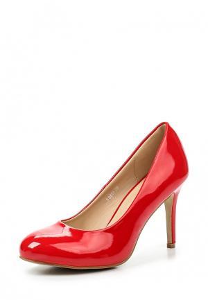 Туфли Super Mode. Цвет: красный