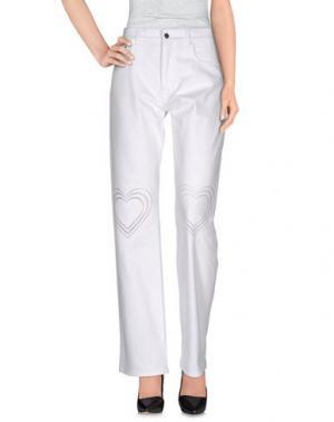 Повседневные брюки CHRISTOPHER KANE. Цвет: белый