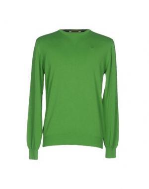 Свитер MARVILLE. Цвет: зеленый