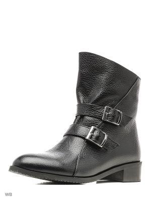 Ботинки ESTELLA. Цвет: черный, серый