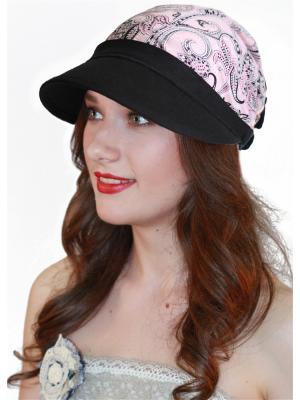 Кепка Сиринга. Цвет: черный, розовый