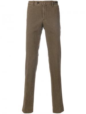 Классические брюки-чинос Pt01. Цвет: коричневый