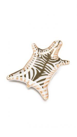 Блюдо Metallic Zebra Jonathan Adler