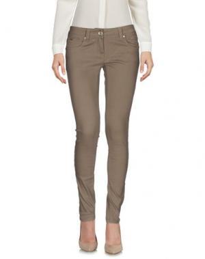 Повседневные брюки ARTIGLI. Цвет: хаки