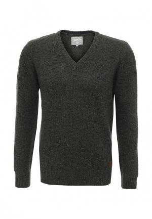 Пуловер Frank NY. Цвет: зеленый