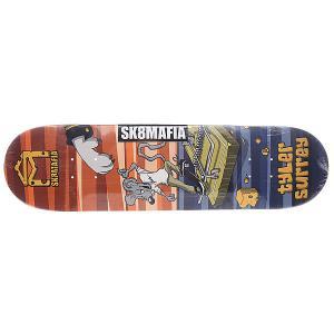 Дека для скейтборда  Surrey Sk8rats Multi 32.12 x 8.19 (20.8 см) Sk8mafia. Цвет: мультиколор