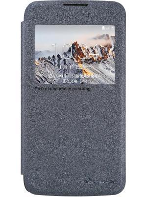 Чехол Nillkin Sparkle leather case для LG K4. Цвет: черный