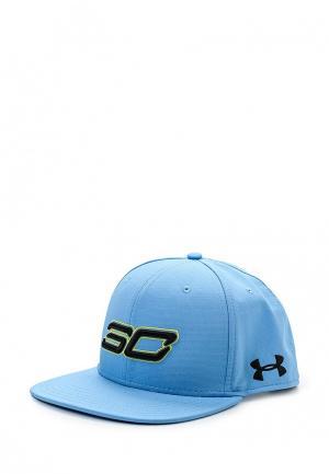 Бейсболка Under Armour. Цвет: голубой
