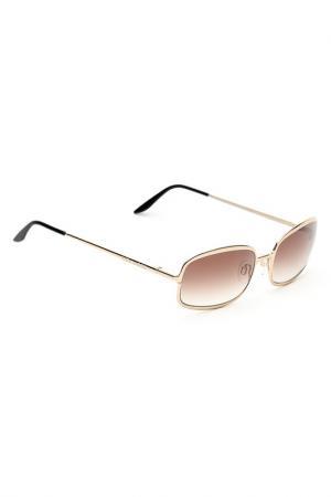 Солнцезащитные очки Mila Schon. Цвет: коричневый