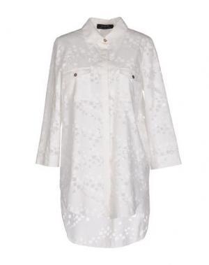 Pубашка KRISTINA TI. Цвет: белый