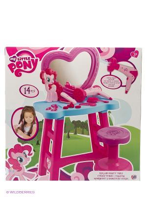 Туалетный столик My Little Pony HTI. Цвет: голубой, розовый