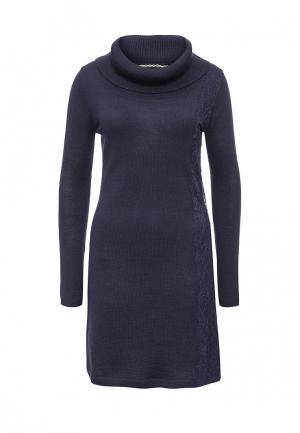 Платье Camomilla. Цвет: синий
