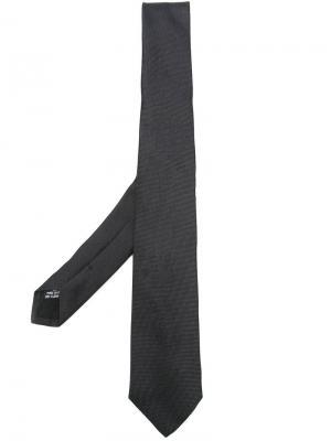 Классический галстук Tonello. Цвет: чёрный