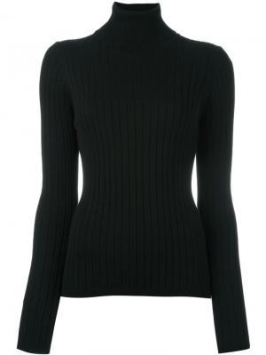 Джемпер в рубчик Casa Mih Jeans. Цвет: чёрный