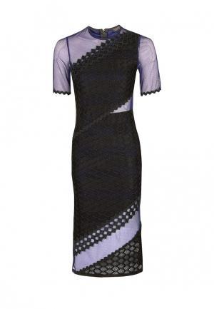 Платье Topshop. Цвет: синий