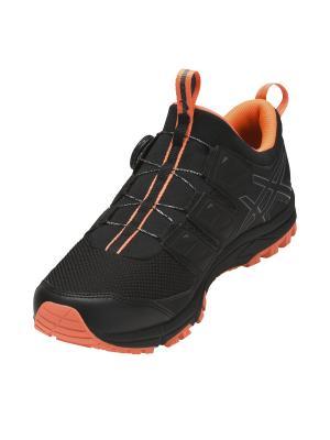 Кроссовки GEL-FujiRado ASICS. Цвет: черный, оранжевый, серый