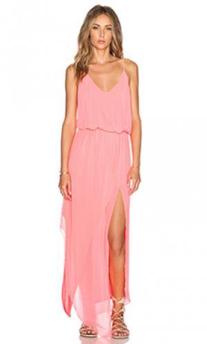 Макси платье nikee Rory Beca. Цвет: розовый