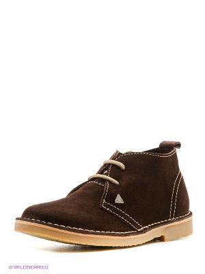 Ботинки Beppi. Цвет: темно-коричневый