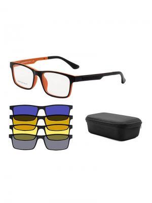 Оправа А9003-С3 Moretti. Цвет: черный, оранжевый