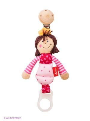 Кукла подвеска для соски Принцесса Sigikid. Цвет: розовый