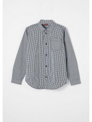 Рубашка S.OLIVER. Цвет: черный