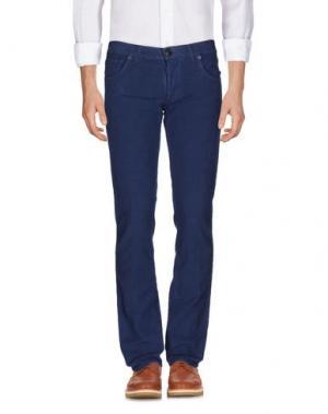 Повседневные брюки RICHARD JAMES BROWN. Цвет: синий