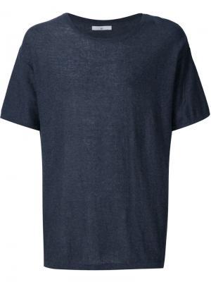 Трикотажная футболка 321. Цвет: серый