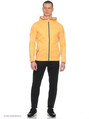 Ветровка Hooded Lightweight Jacket Puma. Цвет: оранжевый
