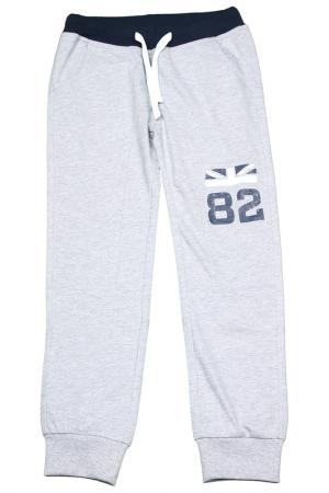 Спортивные брюки Dodipetto. Цвет: серый