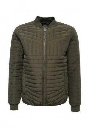 Куртка утепленная Lindbergh. Цвет: хаки