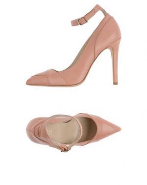 Туфли FIORANGELO. Цвет: лососево-розовый