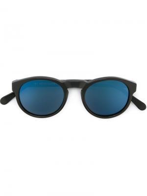 Солнцезащитные очки Paloma с контрастными линзами Retrosuperfuture. Цвет: чёрный