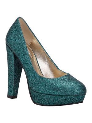 Туфли APART. Цвет: зеленый
