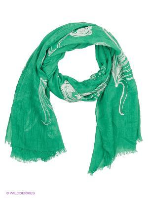 Платок Vita pelle. Цвет: зеленый