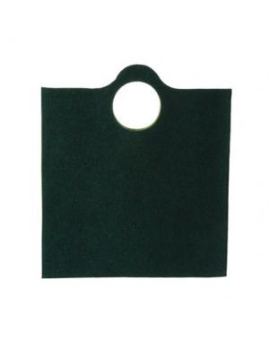 Средняя сумка из текстиля GB8. Цвет: темно-зеленый