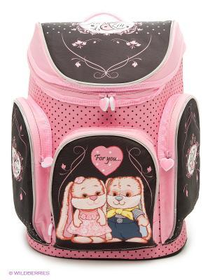 Ранец Jack&Lin (JL-SW-G3) MAXITOYS. Цвет: розовый