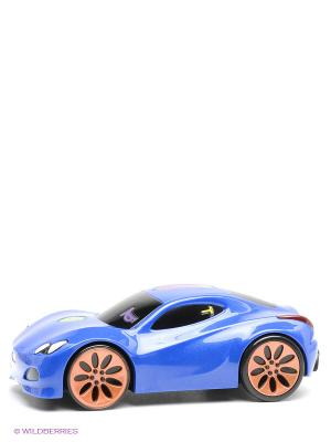 Игрушка гоночная машина Touch n Go Голубая Little Tikes. Цвет: синий