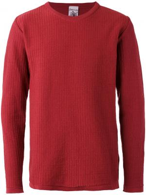 Джемпер с круглым вырезом Solution S.N.S. Herning. Цвет: красный