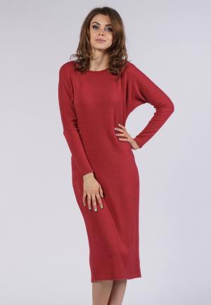 Платье Evercode. Цвет: красный
