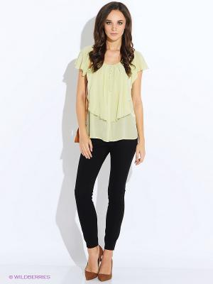 Блуза Oky Coky. Цвет: светло-зеленый