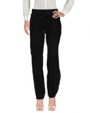 Повседневные брюки MEETING. Цвет: черный