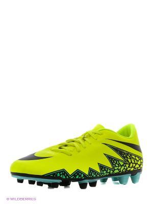 Бутсы HYPERVENOM PHADE II FG Nike. Цвет: желтый