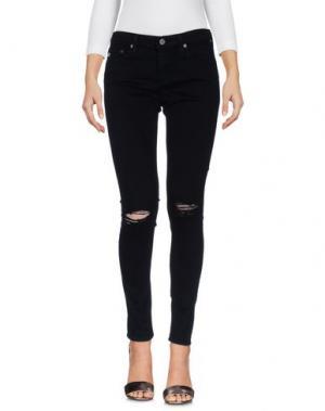 Джинсовые брюки AG ADRIANO GOLDSCHMIED. Цвет: черный